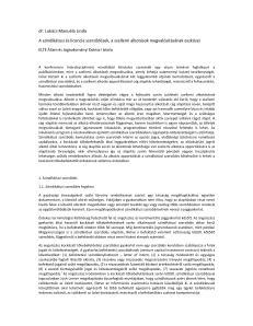 A szindikátusi és licencia szerződések